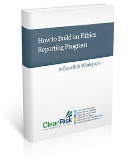 ethics reporting program whitepaper