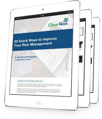 25 ways to improve risk management whitepaper