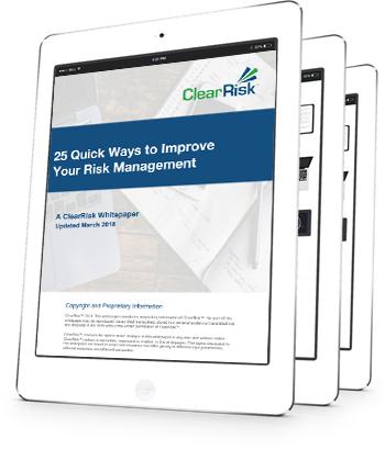 25 ways to improve risk management whitepaper