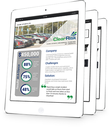 ClearRisk case study with Universal Parking