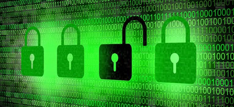 four locks behind code