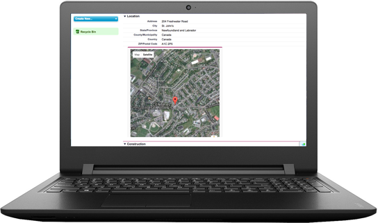 ClearRisk's Incident Management software on a laptop monitor