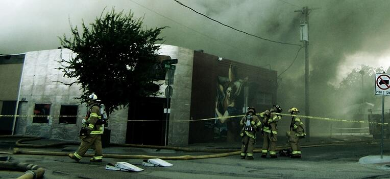warehouse on fire-1